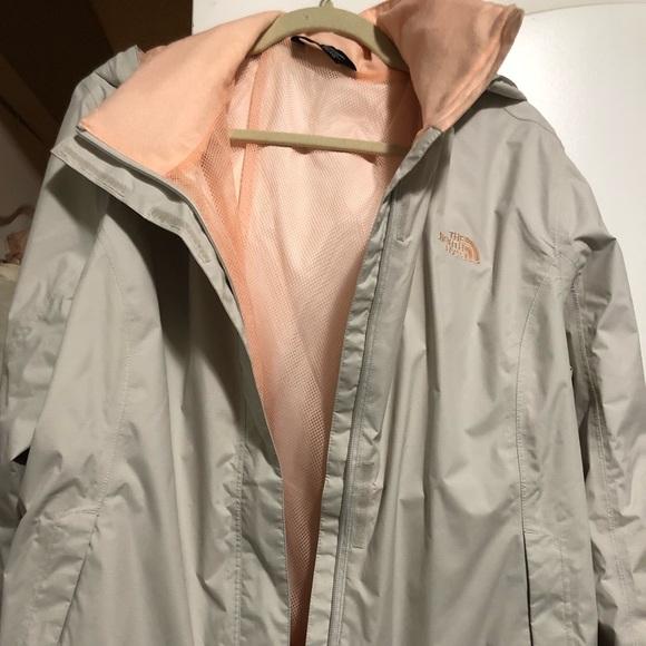 e260eabe6 Plus size north face rain jacket
